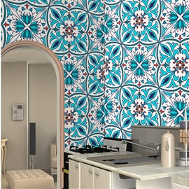 Bohemian Style Waterproof Silk Cloth Material Self-Adhesive Wall Murals