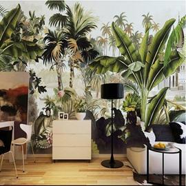 Modern Design Selva Forest Scenery Pattern Waterproof Decorative 3D Wall Murals
