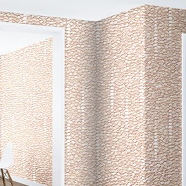 Flesh-Corlored Scales Durable Waterproof and Eco-friendly 3D Wall Mural