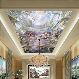 3D Source of Life Printed Waterproof Durable and Eco-friendly Ceiling Murals