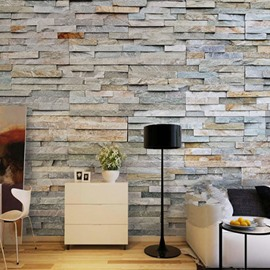 3D Brick Wall Printed Sturdy Waterproof and Eco-friendly Wall Mural