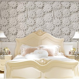 Waterproof Silk Cloth Material Mildew Resistant European Style Wall Murals