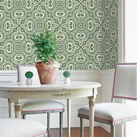 European Style Environmental Silk Cloth Material Waterproof Wall Murals
