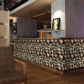 Self-Adhesive Wallpaper Stone Decoration Wallpaper