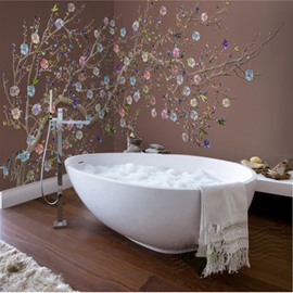 Superb 3D Bathroom Wall Murals