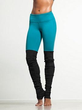 Polyester Material Skinny Model Elastics Closure Type Full Length Sport Pants
