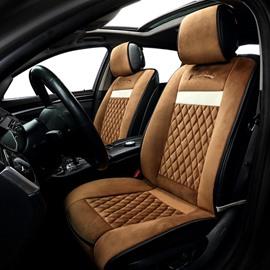 Latticed warm Car Heating Cushion Winter Seat Mat