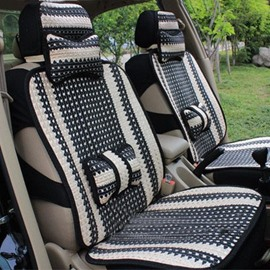 Concise Style Ice Silk Material Two Colors Car Seat Cover