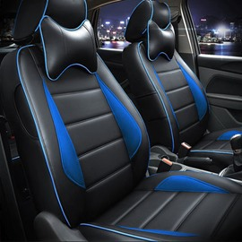 Hot Selling PU Material And Sport Style Universal Car Seat Cover