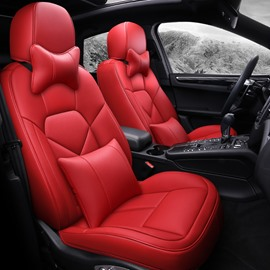 Top Leather Sports Style All Seasons Custom Fit Car Seat Covers