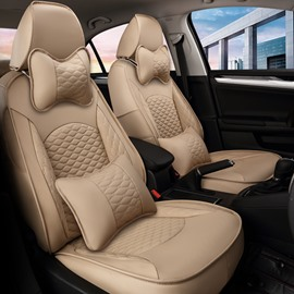Antique Water-proof Exquisite Leather Custom Car Seat Covers
