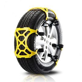 6 PCS Snow Tire Cables Emergency Car Chains