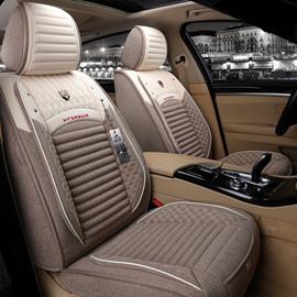 Superior Cool Flax Material F-Series Ram Tacoma Sierra Silverado Colorado Etc Universal Truck Seat Covers