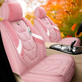 Princess Style Linen Material Environmentally Friendly And Breathable Five Seats Universal Truck Seat Covers