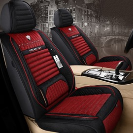Simple Style Breathable Fabrics Material Comfortable And Soft 5 Seats Truck Universal Fit Car Seat Covers