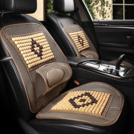 Summer Massage function Cool Dimond Pattern Front Single-seat Universal Car Seat Covers