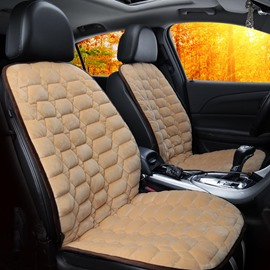 Suede Material Rapid Heating Safe And Efficient Convenient Installation 1 Universal Front Heating Seat Cover