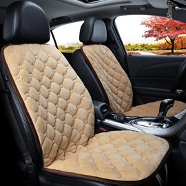 Suede Material Rapid Heating In 30 Seconds Safe And Efficient Convenient Installation Universal 1 Front Seat Cover
