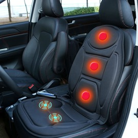 Massage Heating Humanized Design Timing Design Rapid Heating Wear-Resistant And Scratch-Resistant Universal 1 Front Seat Cover For Winter