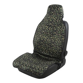 2 Front Seat Covers Super Waterproof Material Outdoor Camouflage Sports Style Easy Installation And Good Waterproofing Performance Effectively Isolate Sweat And Rain Water