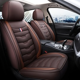 Full Coverage Whole Leather Wear-Resistant Dirty-Resistant And Non-Faded 1 Front Seat Cover Suitable For Most Cars