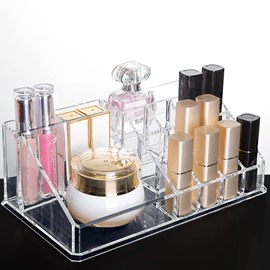 Acrylic Simple Style High Capacity Cosmetic Storage Box