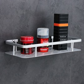 Single Layer Space Aluminum Free of Punch Storage Rack